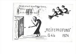 """9143 - Hansel Streck Deinen Finger Heraus Damit Ich Fühle Ab Du Bald Reif Bist """"Reifeprüfung"""" G4b 1924 - Ecoles"""