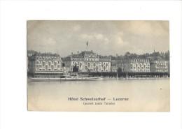 9144 - Hôtel Schweizerhof Lucerne - LU Lucerne