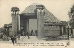 75 PARIS EXPOSITION INTERNATIONALE DES ARTS DECORATIFS 1925 - Expositions