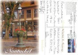Nantucket, Massachusetts, United States US Postcard Used Posted To UK 2009 Stamp - Nantucket