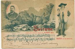 Pionniere 1900 Nabor G De Grazia Settana De Alfredo Keil Opera Litho Tabacaria Costa - Non Classés