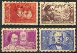 France (1939) N 436 à 439 (o) - France