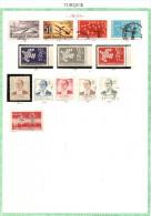 TURQUIE.   1961 / 62  .Collection Sur 1 Page D´album.  Europa - Nuovi