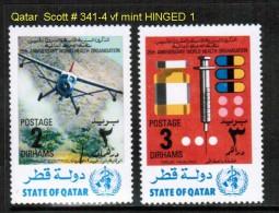 QATAR    Scott  # 341-4*  VF MINT HINGED - Qatar