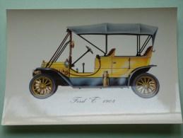FORD T 1908 ( 112 X 160 Mm. / Zie Foto Voor Details ) !! - Cartes Postales