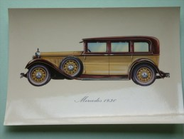 MERCEDES 1930 ( 112 X 160 Mm. / Zie Foto Voor Details ) !! - Cartes Postales