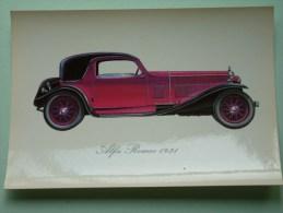ALFA ROMEO 1931 ( 112 X 160 Mm. / Zie Foto Voor Details ) !! - Cartes Postales