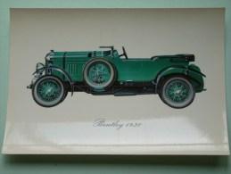 BENTLEY 1930 ( 112 X 160 Mm. / Zie Foto Voor Details ) !! - Cartes Postales