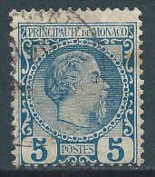 Monaco - 1885 - Charles III - N° 3  -  Oblitéré - Used - Monaco