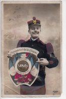 REF 169 : CPA Militaria Calendrier Des Classes La Quille - Humor