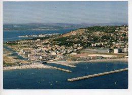 REF 165 : CPSM 34 SETE Vue Aérienne Résidence Mont St Clair - Sete (Cette)