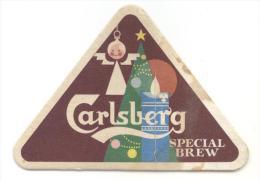 Danmark. Denmark. Danemark. Denemarken. Carlsberg. Special Brew. Christmas. Noël. Kerstmis. - Sous-bocks