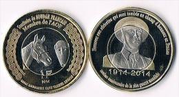 Soudan Francais( Mali)  1 Franc 2014-bimetal- Horse - Mali (1962-1984)