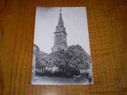 Drôme : église De Marches . 1958 .timbres :  Moissonneuve à 6 F X 2 + Aunis 3 F - Otros Municipios