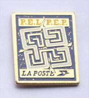 Pin's  LA POSTE - PEL / PEP - Plan D'Epargne Logement - Plan D'Epargne Populaire - D495 - Mail Services