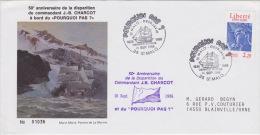 PLIS ARCTIQUE  Pourquoi Pas DERNIER VOYAGE JB CHARCOT ST MALO 16-09-1986 - France