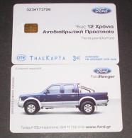 GREECE PHONECARD FORD RANGER-X1755- 40000pcs-4/04-USED - Grecia