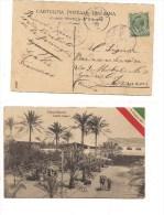 $3-3569 REGIA NAVE FERRUCCIO 1912 ANNULLO TRIPOLI COLONIE OLEIFICI. - Storia Postale