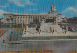 Am - CPM 3D Mongolia, Ulan Bator, The Government Palace - Mongolie