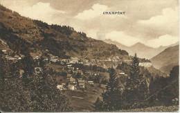PostkaartZwitserland  B496   Champëry - Ohne Zuordnung