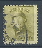 VEND BEAU TIMBRE DE BELGIQUE N° 166 , GRIFFE SUR L ´ OEIL GAUCHE !!!! - Errors And Oddities