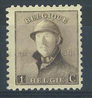 """VEND BEAU TIMBRE DE BELGIQUE N° 165 , TRAIT A DROITE DU """"1"""" !!!! - Errors And Oddities"""