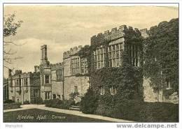 HADDON HALL -  Terrace --  New Vintage Card - Derbyshire