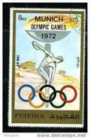 FUJEIRA Munich Games Extra Large Stamps Used - Summer 1972: Munich