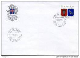 ISLANDE   FDC 1979  Mi 544 - FDC