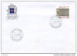 ISLANDE   FDC 1979  Mi 546 - FDC