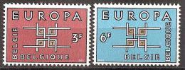 Belgien 1963 // Mi. 1320/1321 ** (M.029..640) - Europa-CEPT