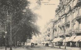 Allemagne - Hesse - WIESBADEN - Weltpostverein - Animée - Wilhemstrasse. Verlag Jacob Levi, Wiesbaden. N°50 / 1907 - Wiesbaden