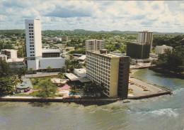 AFRICA,afrique,GABON,LIBREVILLE,hotel  Rapotchombo,et De L'immeuble Rénovation - Gabon