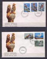 Cyprus 1969 (Vl 144-149) Birds FDC - Chypre (République)