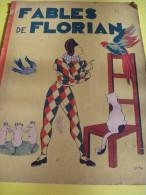 Album Illustré/Enfants /Fables De Florian/ JY MASS/SIP/Paris /Vers 1930-1940   BD28 - Bücher, Zeitschriften, Comics