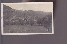 Cpa N°384 ,   Ordino , Vista General De La Vila , Phot J Daspet  ,  Voyagé  1949 - Andorra