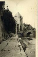 77- MORET Photo Originale Porte,barque - Photos