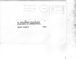 1993 LETTERA CON ANNULLO ROMA - ZECCA DELLO STATO - Affrancature Meccaniche Rosse (EMA)