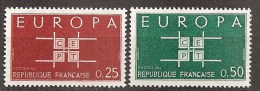 FRANKREICH - MI.NR. 1450 - 51 ** (M) - Europa-CEPT