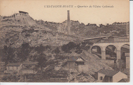 L´ESTAQUE RIAUX - Quartier De L'Usine Coloniale  ( E.L.D.      Le Deley ) - L'Estaque