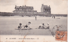 CPA Le Home - Grand Hôtel Sainte-Marie - 1928 (1048) - Cabourg