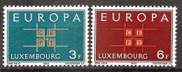 Luxemburg 1963 // Mi. 680/681 ** (M.027..865) - Europa-CEPT