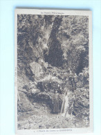 Carte Postale Ancienne : L'entrée Des Gorges De KAKOUETTA , Animé Avec Curé Et Hommes - Sonstige Gemeinden
