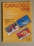 Catal. Italia 1998 - Livres & CDs