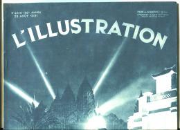 Exposition Coloniale L'Illustration N° 4616 Du 22 Août 1931 - 1900 - 1949