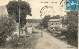 ARDENNES 08.LA NEUVILLE LES WASIGNY LA RUE D EAU - France
