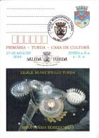 Romania ; 2008  ; Saltworks ; Saltern  Turda ; Geology ;   Special Cancell - Geology