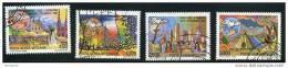 VATICAN 1987 Voyages Du Pape En 1986  Sass. 83, 85-8 Oblitérés - Poste Aérienne