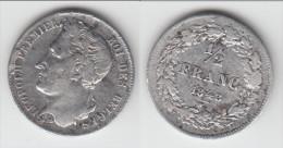 **** BELGIQUE - BELGIUM - BELGIE - 1/2 FRANC 1843 LEOPOLD I - ARGENT - SILVER **** EN ACHAT IMMEDIAT - 1831-1865: Léopold I
