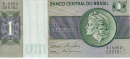 BRESIL   1 Cruzeiro   Emission De 1980  Pick 191Ac    ***** BILLET  NEUF ***** - Brésil
